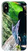 Anhinga On A Cyprus IPhone X Case