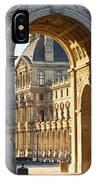 Arc De Triomphe Du Carrousel IPhone Case