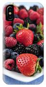 Assorted Fresh Berries IPhone Case