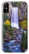 Autumn At Tumalo Falls IPhone Case