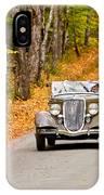 Autumn Drive IPhone Case