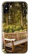 Azalea Garden IPhone Case