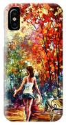 Barefooted Stroll IPhone Case