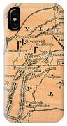 Battle Of Gettysburg, 1863 IPhone Case