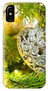 Bauble In A Christmas Tree  IPhone Case