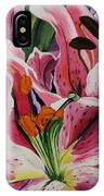 Becky's Lilies IPhone Case
