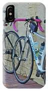 2 Bikes Against Wall IPhone Case