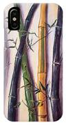 Black Bamboo IPhone Case