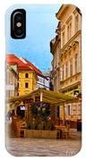 Bratislava Old Town IPhone Case