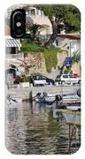 Brela Harbour Croatia IPhone Case