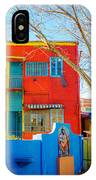 Bright Colors In Buenos Aires IPhone Case