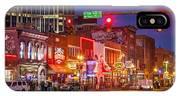 Broadway Street Nashville IPhone Case
