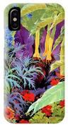 Brugmansia-1 IPhone Case