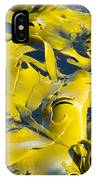Bull Kelp Blades On Surface Background Texture IPhone Case
