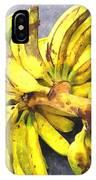 Bunch Of Banana IPhone Case