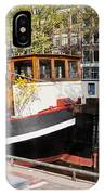 Canal In The City Of Amsterdam IPhone Case