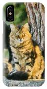 Cats In Hydra Island IPhone Case