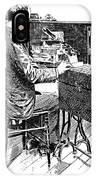 Census Machine, 1890 IPhone Case