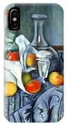 Cezanne's The Peppermint Bottle IPhone Case