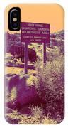 Charons Garden Wilderness IPhone Case