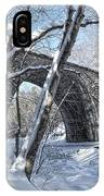 Cheshire Railroad Bridge IPhone Case