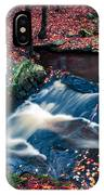Chesterfield Gorge New Hampshire IPhone Case
