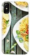 Chicken Noodles IPhone Case