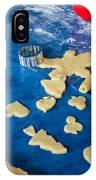 Children Baking Christmas Cookies IPhone Case