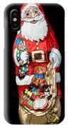 Chocolate Santa Claus IPhone Case