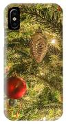 Christmas Tree Ornaments IPhone Case
