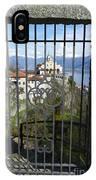 Church Madonna Del Sasso IPhone Case