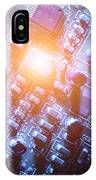 Circuit Board Abstract IPhone Case