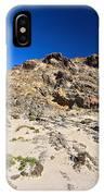 cliff in San Pietro island IPhone Case