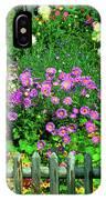 Close-up Of Flowers, Muren, Switzerland IPhone Case