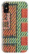 Cloth Pattern IPhone Case