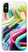 Clothes Hangers IPhone Case