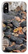 Coastal Rocks And Pebbles IPhone Case