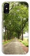 Cobblestone Country Road IPhone Case