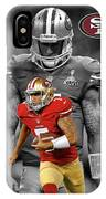 Colin Kaepernick 49ers IPhone Case