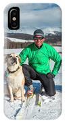 Colorado Cross Country Skiing IPhone Case