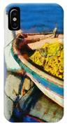 Colorful Boat IPhone Case