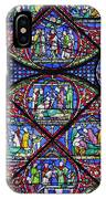 Colourful Stained Glass Window In IPhone Case