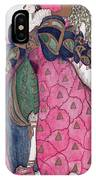Costume Design For The Ballet La IPhone Case