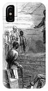 Cotton Plantation, 1867 IPhone Case