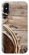 Cowboy Gear IPhone Case