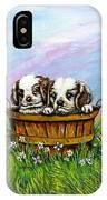 Curious Little Buddies.  IPhone Case