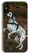 Dalmatian 5 IPhone Case