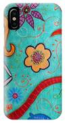 Day Of The Dead Mermaid IPhone Case