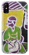 Drummer Boy In The Town IPhone Case