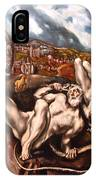 El Greco's Laocoon IPhone Case